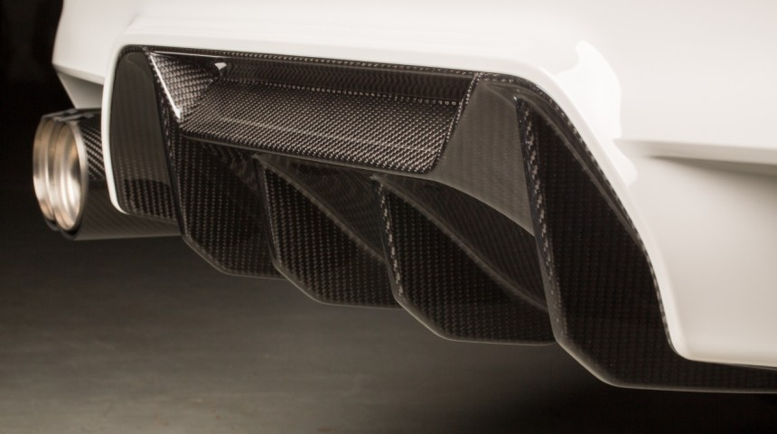 M Performance Heckdiffusor Carbon - M5 F90