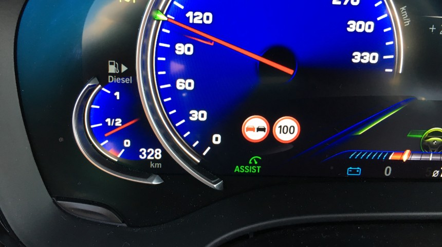 Speed Limit Info - BMW G-Modelle