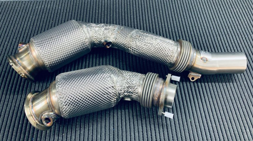 HJS Turbodownpipes S55 - M2 CP / M3 / M4