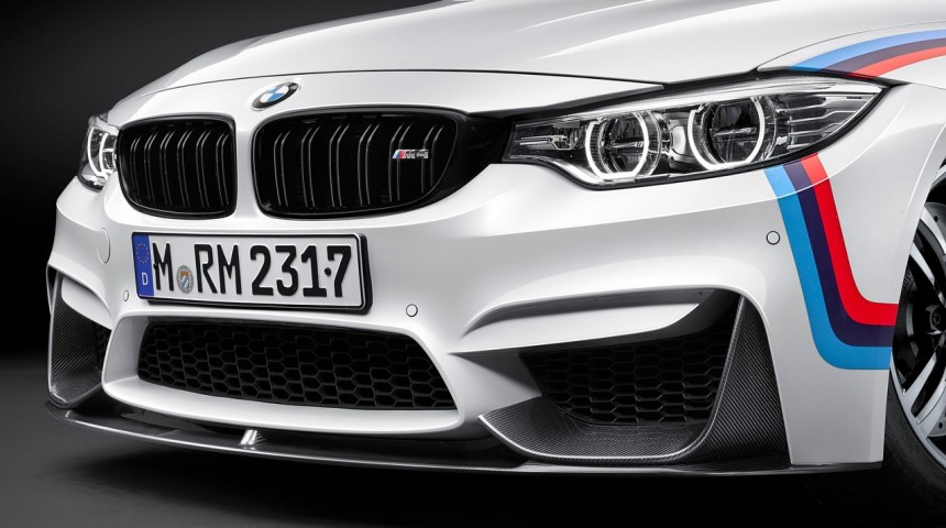 M Performance Frontaufsatz Carbon - M3 / M4