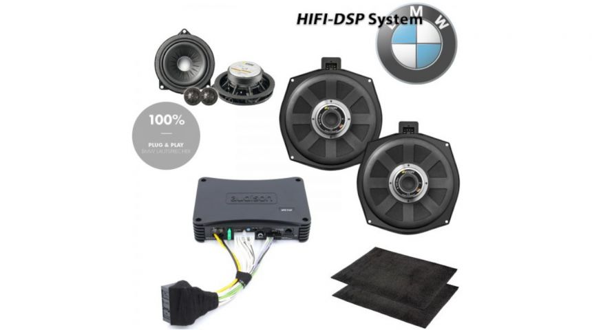 HiFi Upgrade System digital DSP - 1er-4er